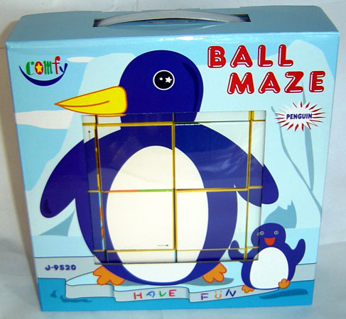 Ball Maze (3 animals in one puzzle)