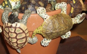 animal pot hangers, flowerpot decorations