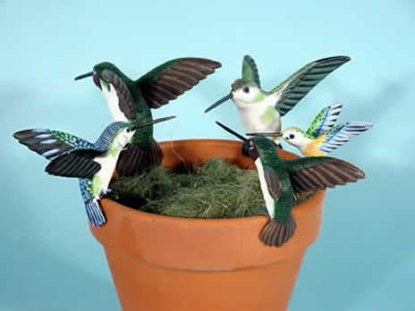 Bird plant pot decor, zoo animal pothangers, animals to hang on flowerpots, animal pothangers, plant pot decorations