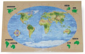 world atlas puzzle, wooden puzzle, toy puzzle, map puzzle, educational toy