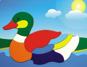 duck and swan puzzle, wooden puzzle, toy puzzle, wooden jigsaw puzzle, educational toy
