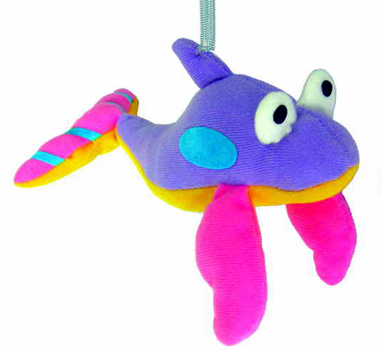 spring animal bouncy ceiling mobile