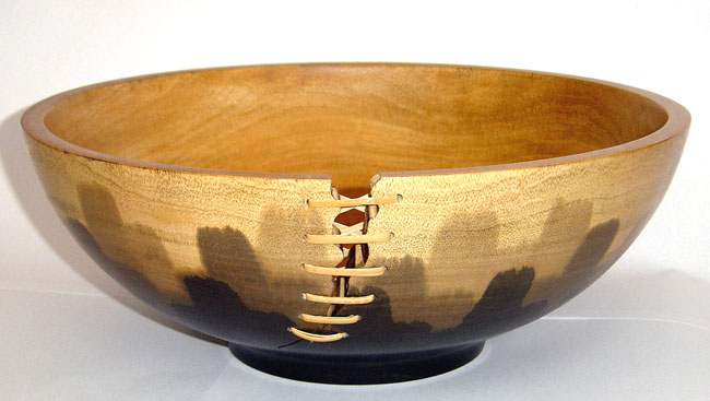 wooden vase, wooden bowl, mango wood bowl, mango wood vase, hand stained vase
