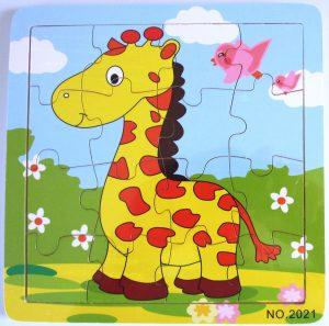 Baby Giraffe wooden jigsaw puzzle
