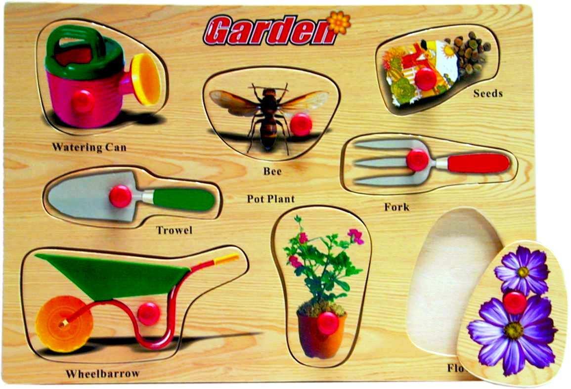 Garden tools puzzle panopoly for Gardening tools crossword