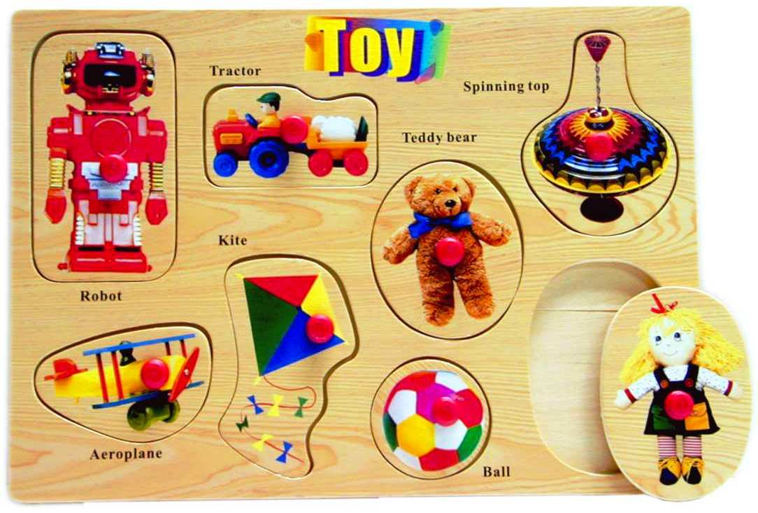 Wooden Jigsaw Puzzle, toys
