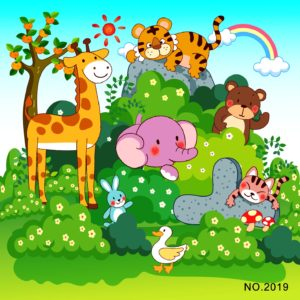 Wooden Jigsaw Puzzle, assorted animals