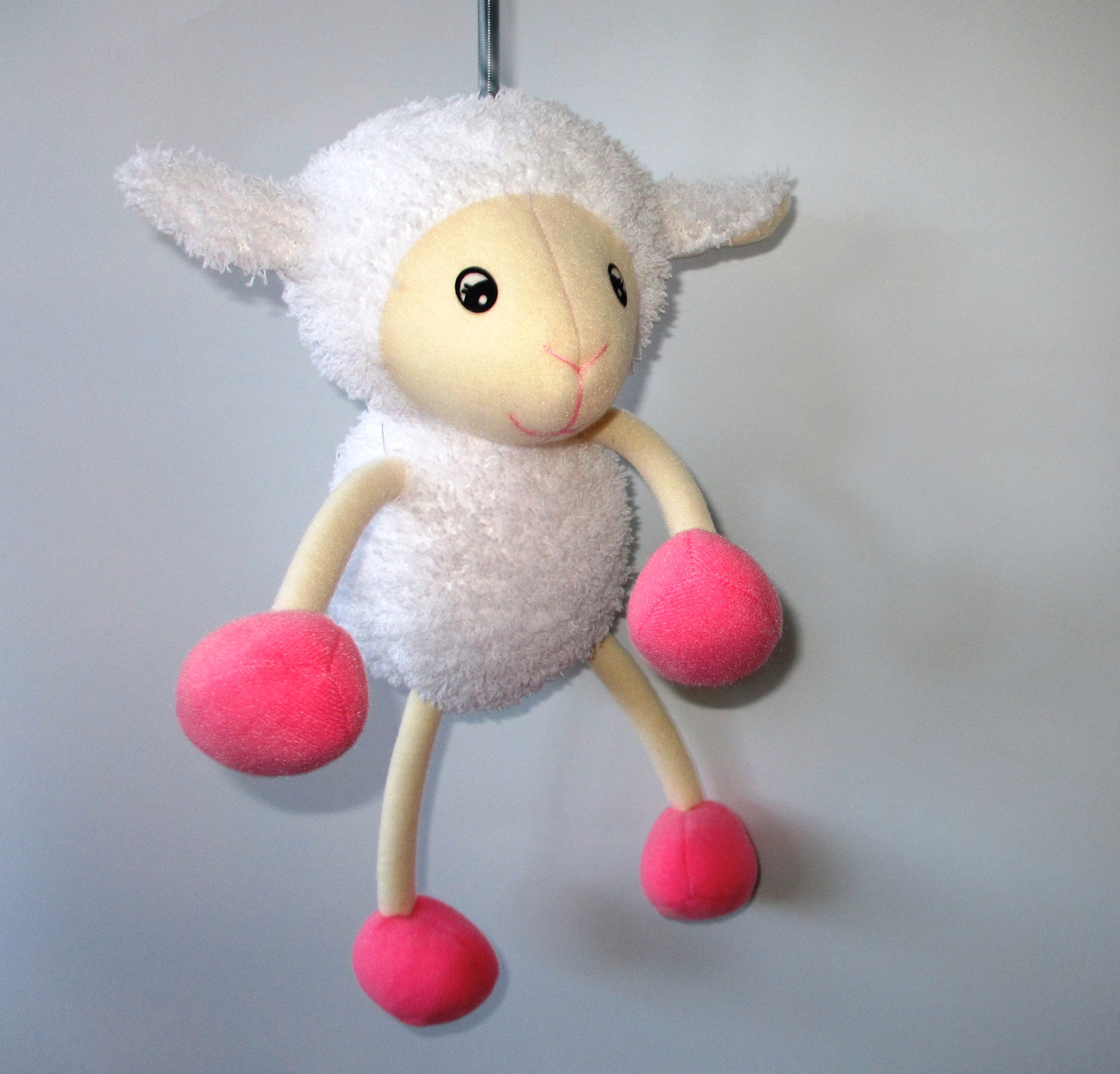 Spring animal mobile, baby lamb